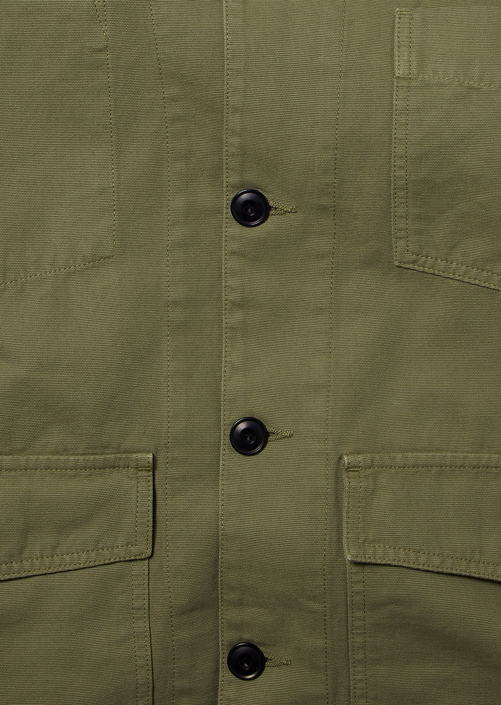 Rail Jacket in Olive Green