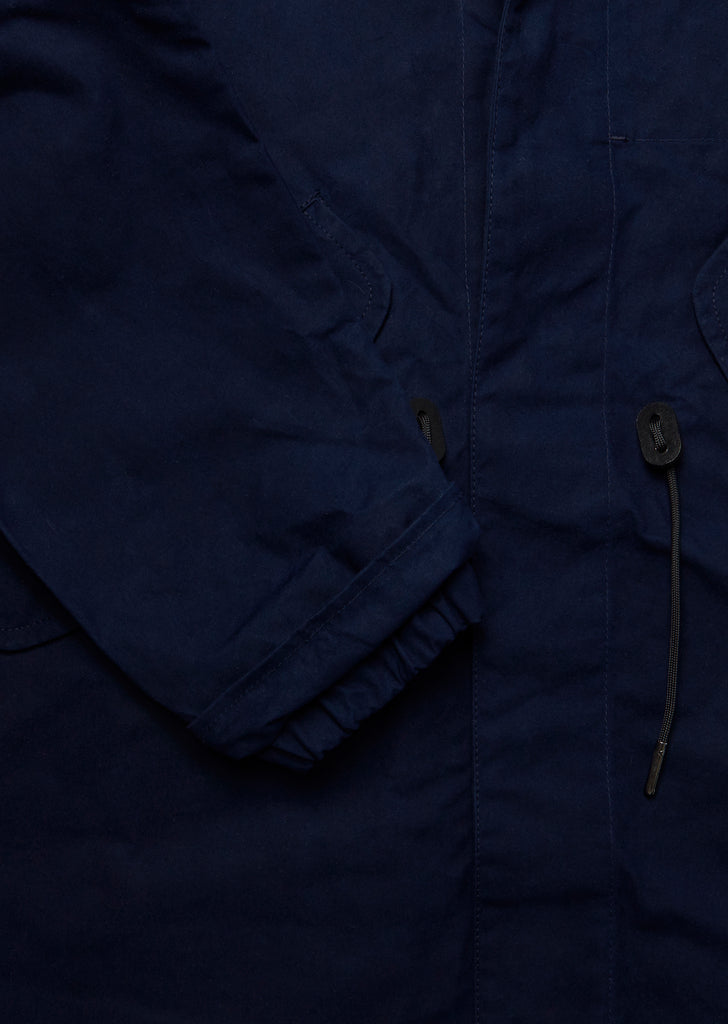 Fishtail Parka in Navy