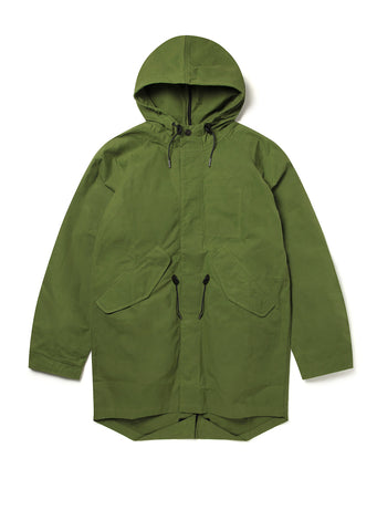 Fishtail Parka in Leaf Green