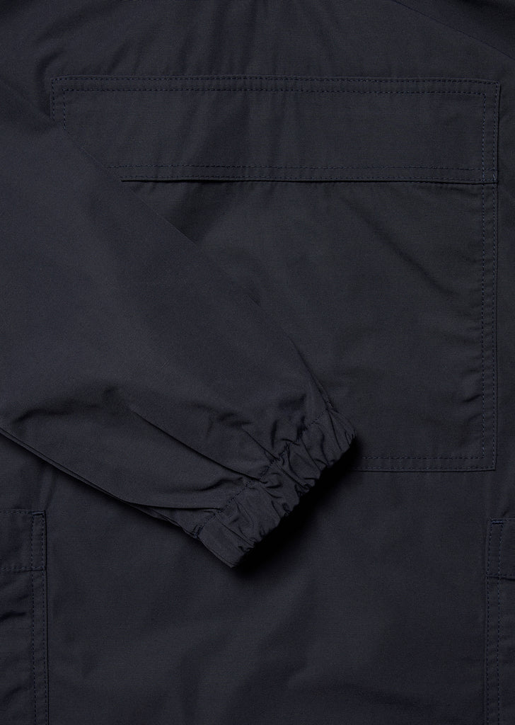 Nylon Sailing Smock in Navy