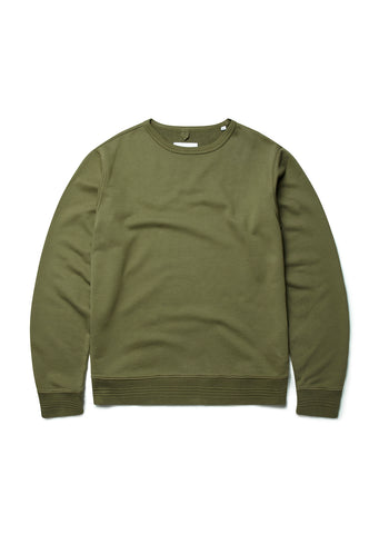 Sports Sweatshirt in Olive