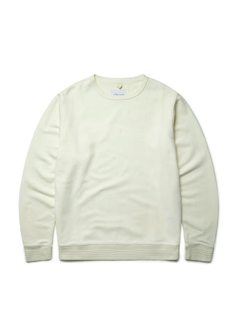Sports Sweatshirt in Ecru