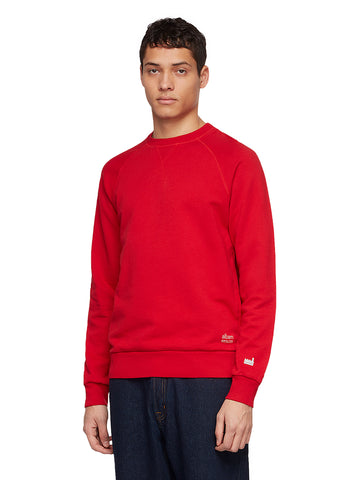 Utility Raglan Sweatshirt in Berry
