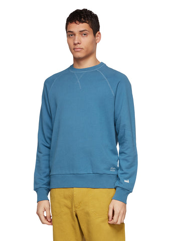 Utility Raglan Sweatshirt in Blue