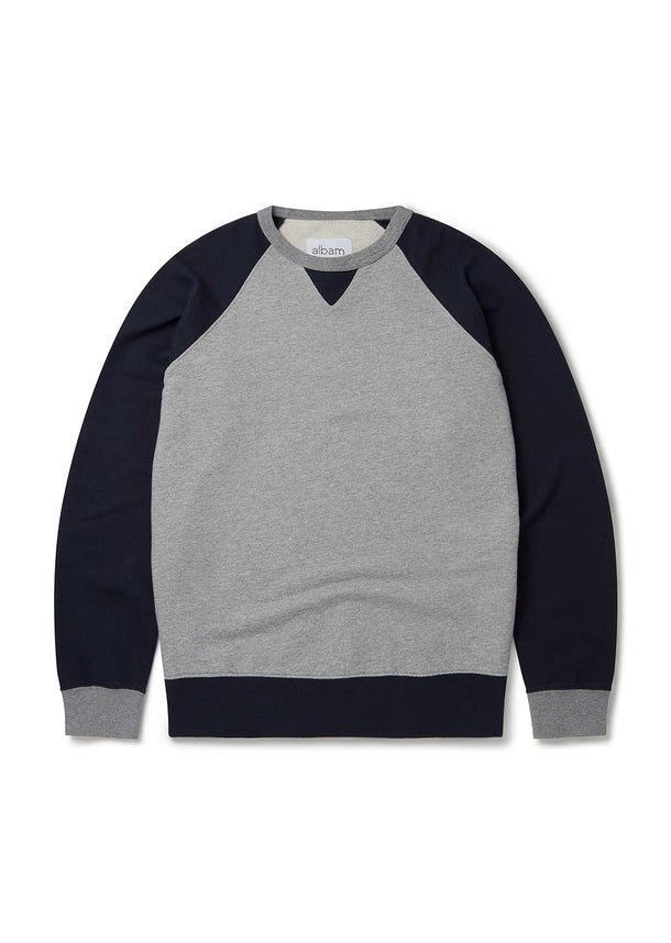 Navy/Grey Marl