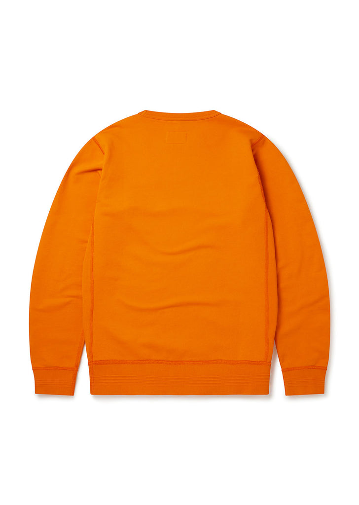 Classic Sweatshirt in Burnt Orange
