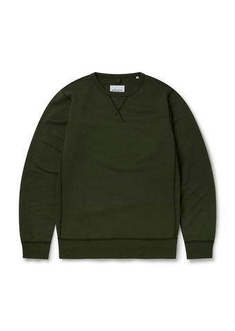 Classic Sweatshirt in Pine Green