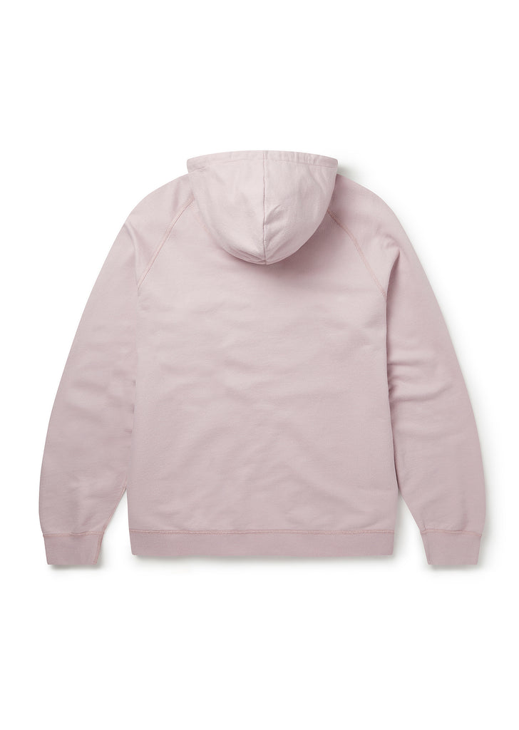 Archive Zip Hoody in Dried Pink