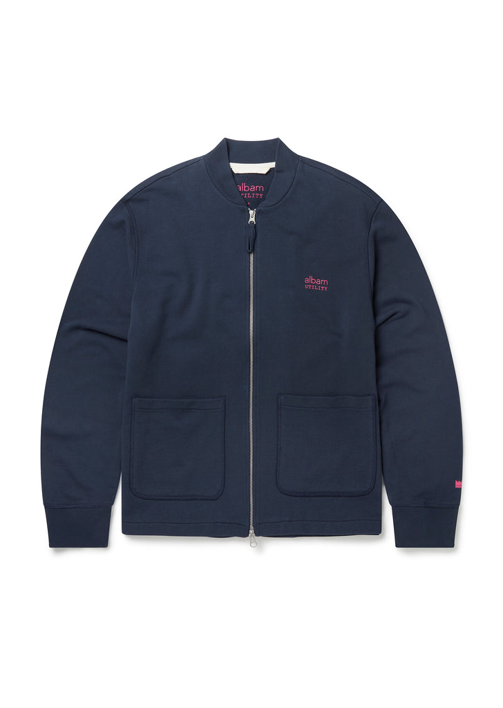 Utility Zip Bomber in Navy