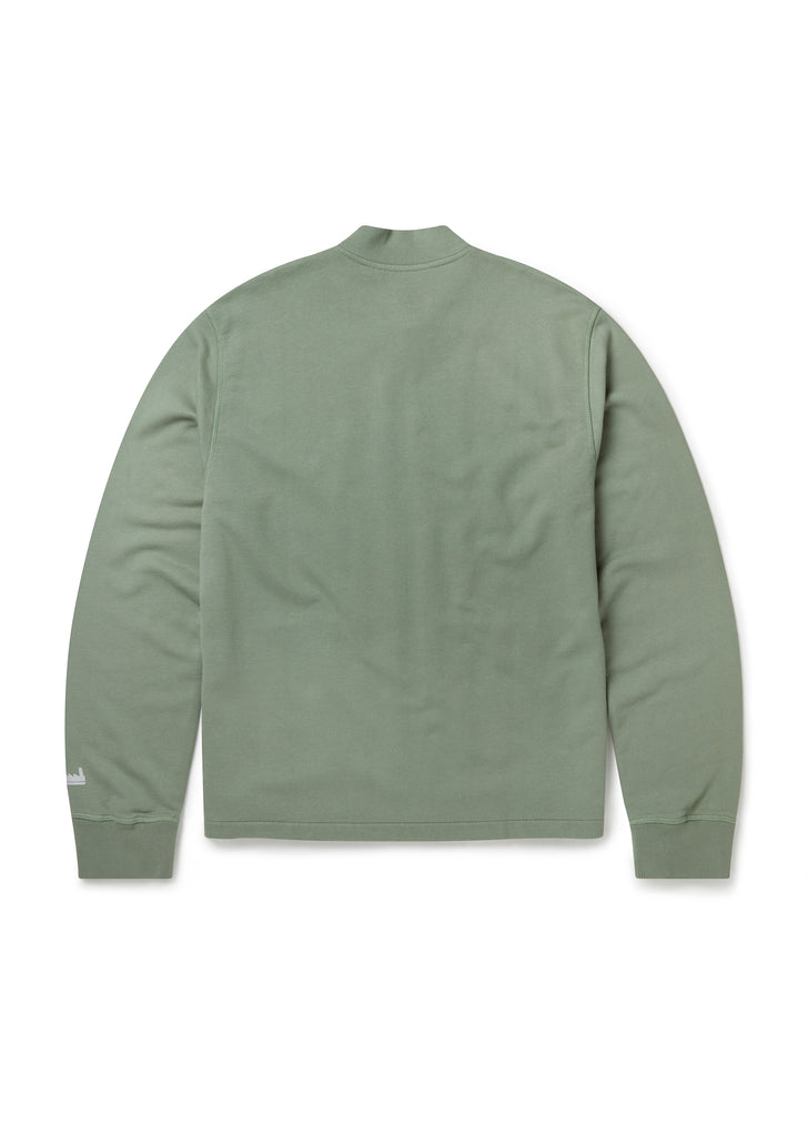 Utility Zip Bomber in Overall Green