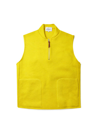 Milano Gilet in Yellow