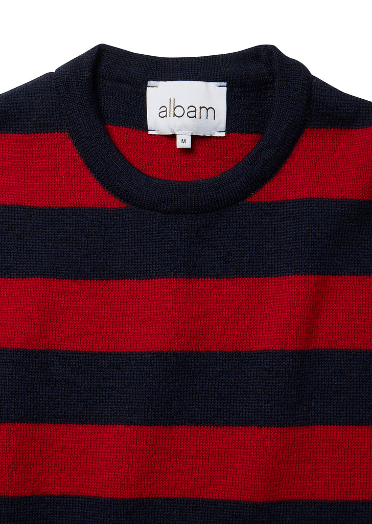 Milano Stripe in Red