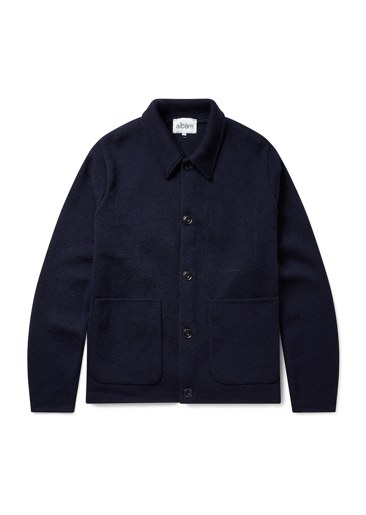 Milano Work Jacket in Navy