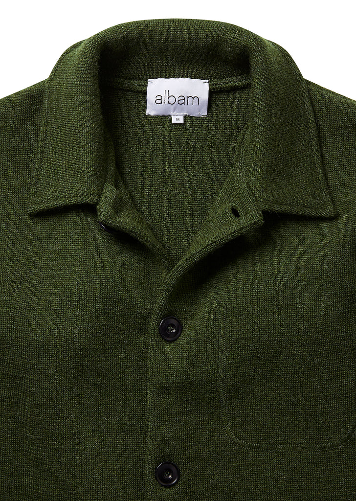 Milano Work Jacket in Olive