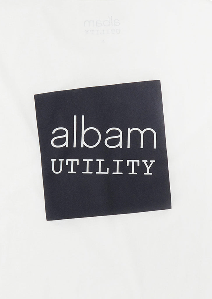 Utility Graphic T-Shirt in White
