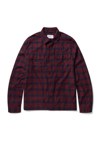 Overshirt in Red