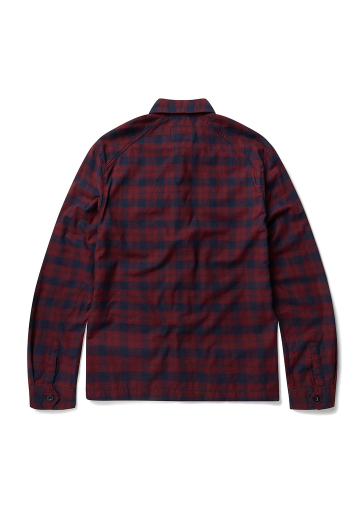 New - Overshirt in Red