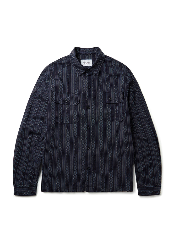 Overshirt in Navy