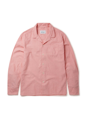 Camp Collar Shirt in Pink