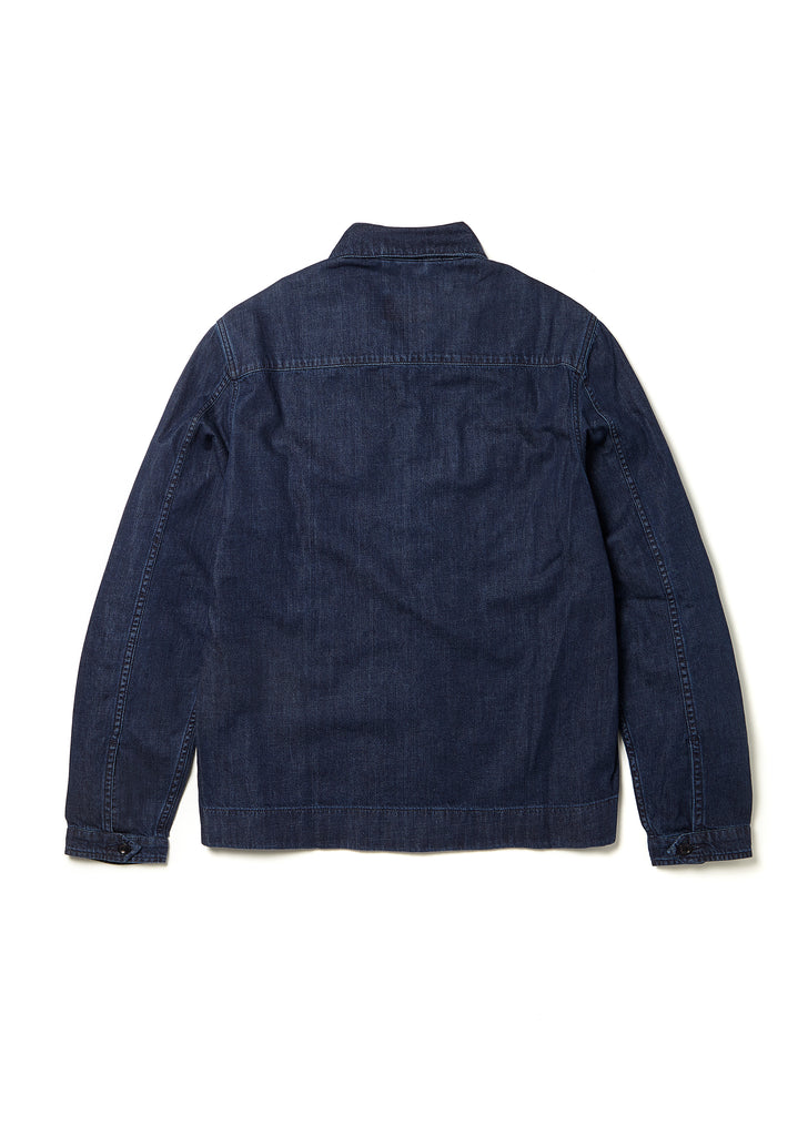 Press Shirt in Indigo