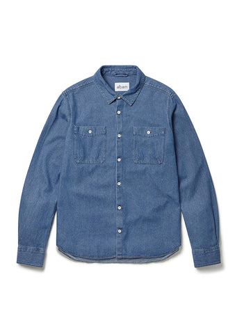 Chambray Heaney Shirt in Blue