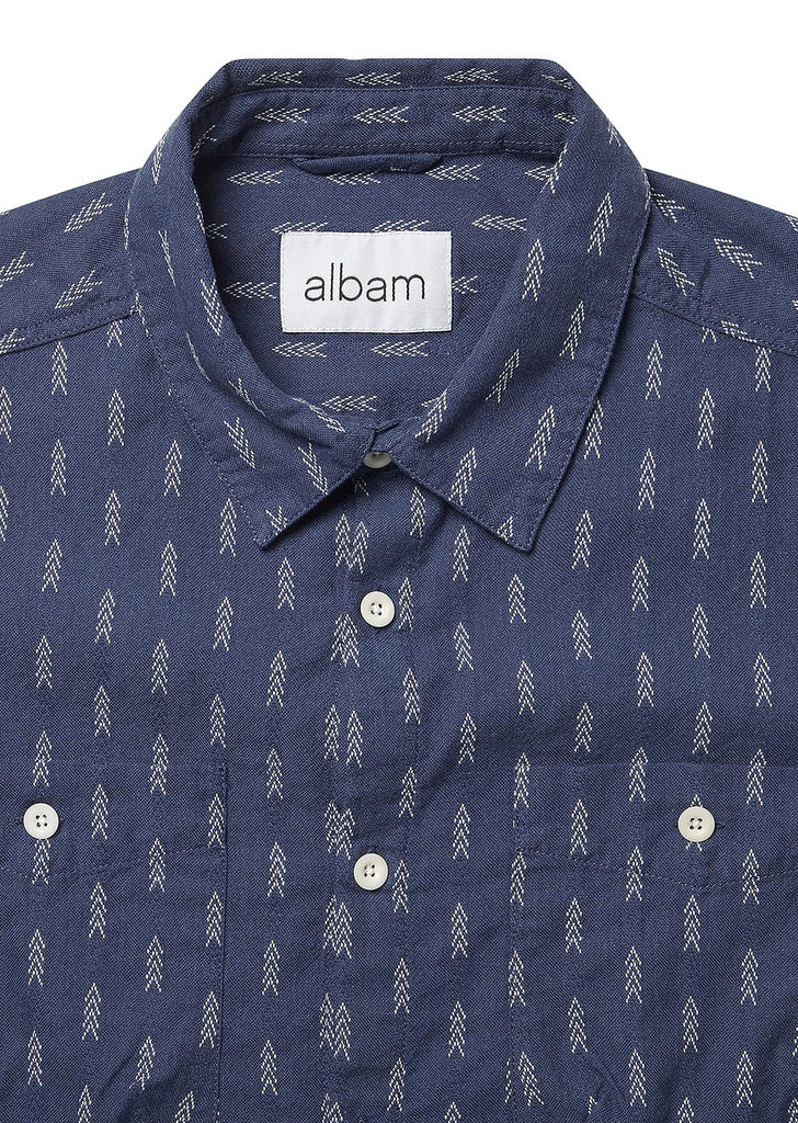 Apache Heaney Shirt in Navy