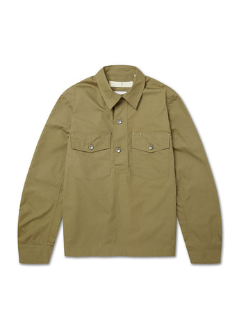 Mechanics Coverall Shirt in Drab