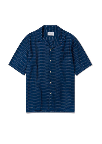 Panama Fleck Shirt in Blue