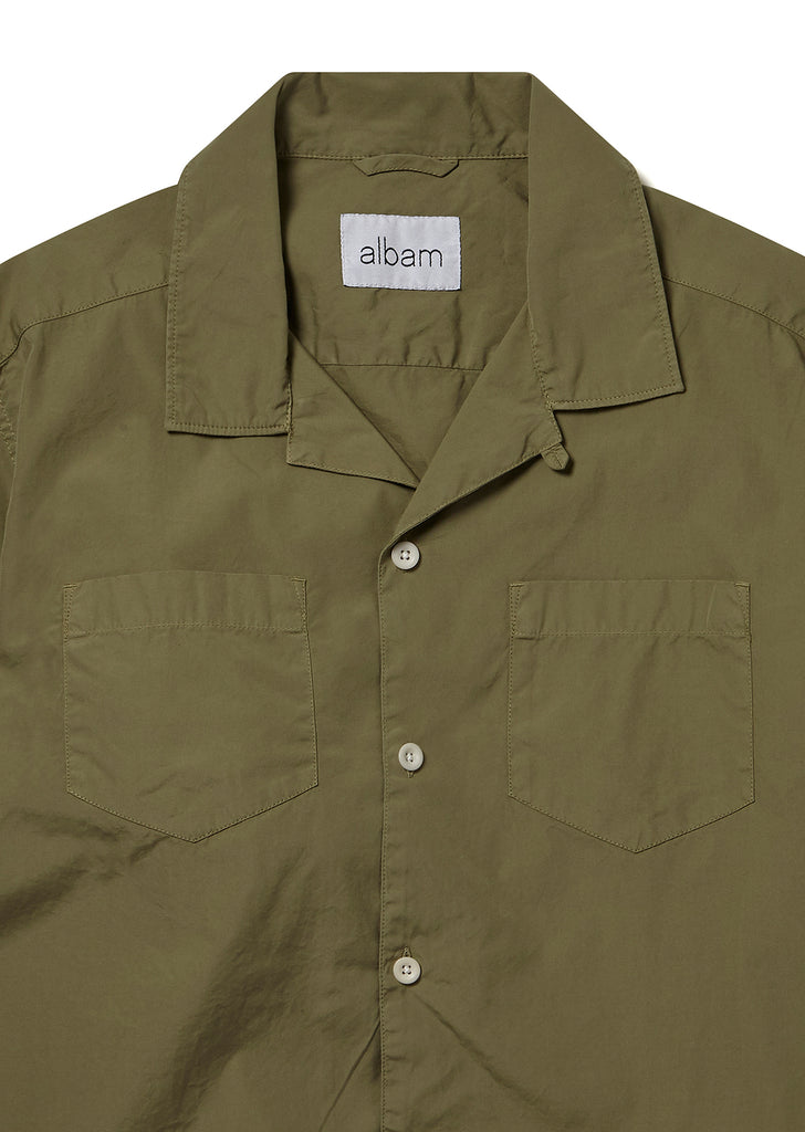 Harlow Shirt in Olive Green