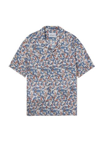 Harlow Shirt in Liberty Monkey Print