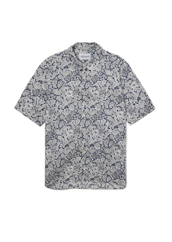Short Sleeved Shirt in Floral Liberty Print