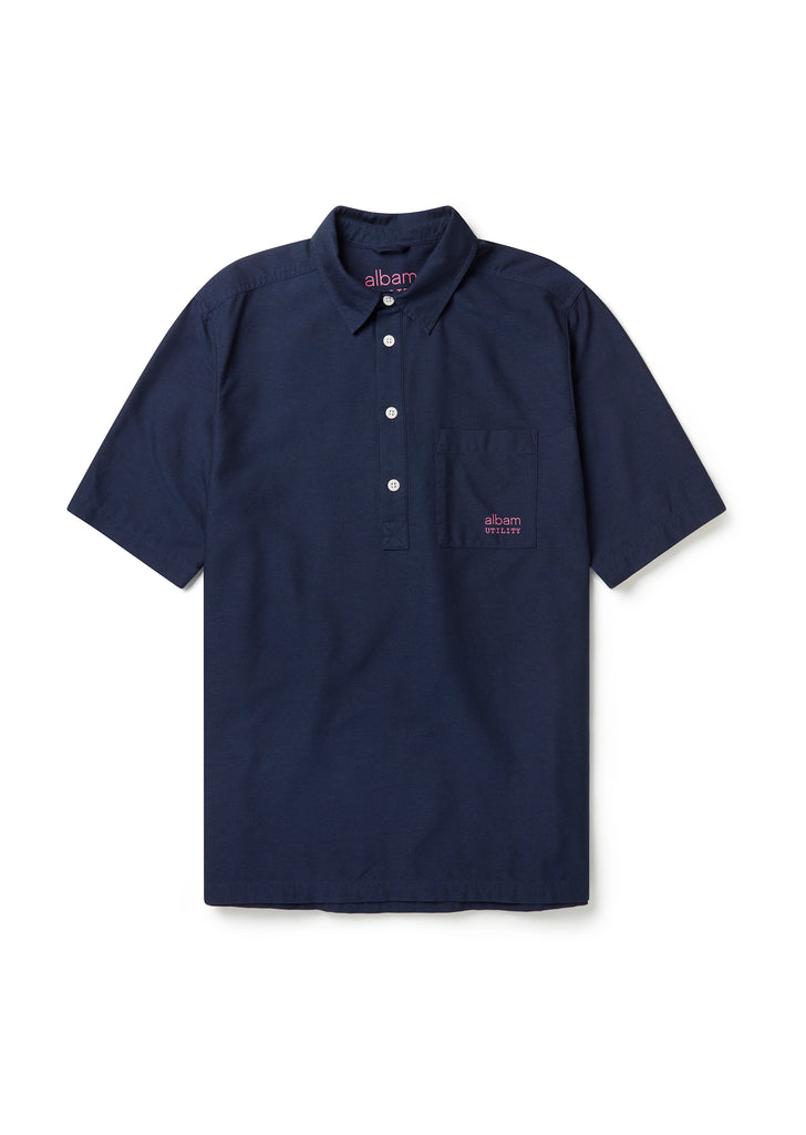 Utility Pullover Shirt in Navy