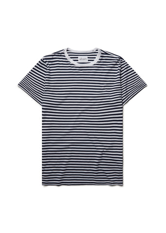 New - Striped T-Shirt in Peacoat
