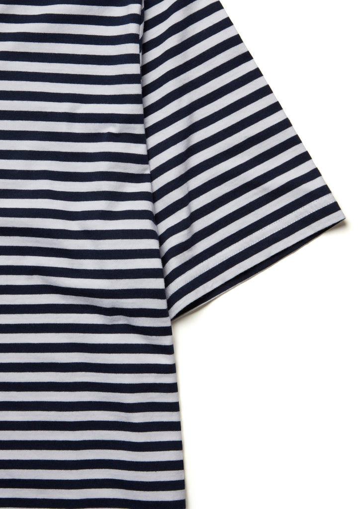 Striped T-Shirt in Peacoat