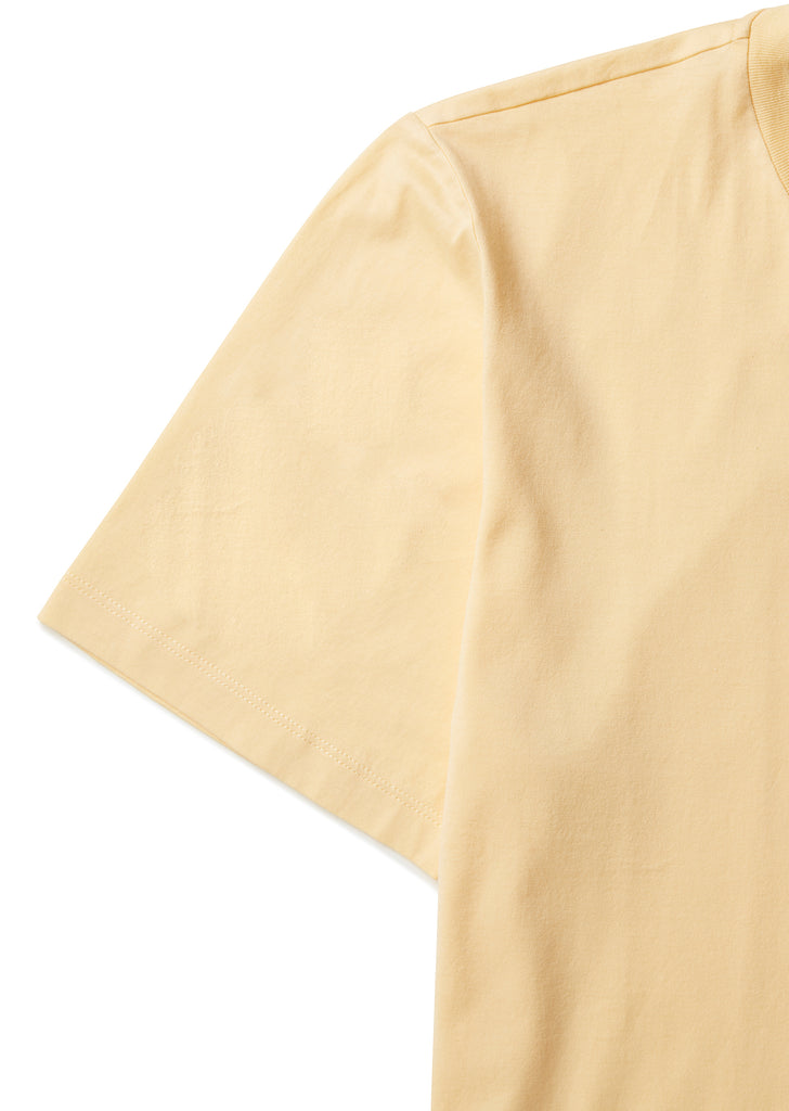 Classic T-Shirt in Pale Yellow