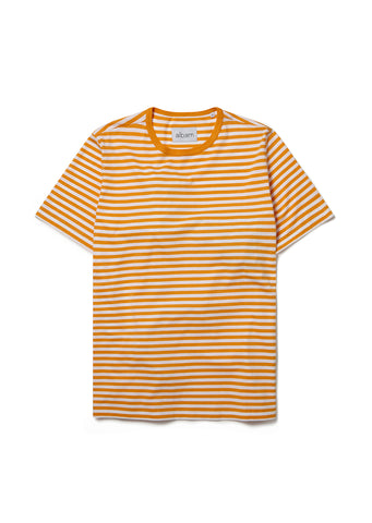 Simple Striped Tee in Beeswax