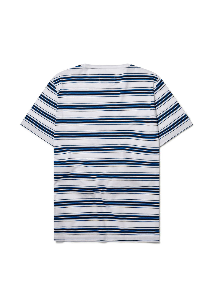 Vintage Striped Tee in White