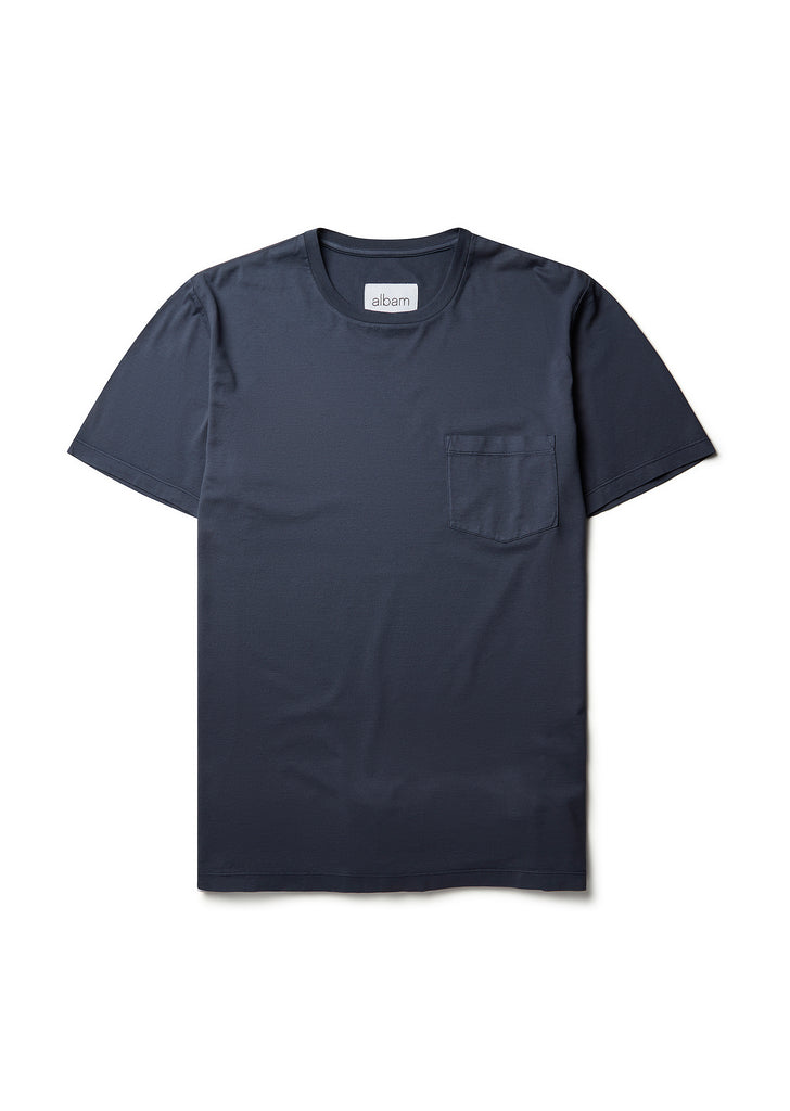 Classic Pocket T-Shirt in Indigo