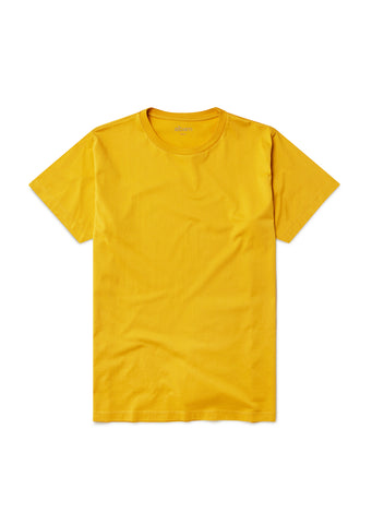 Classic T-Shirt in Rich Yellow