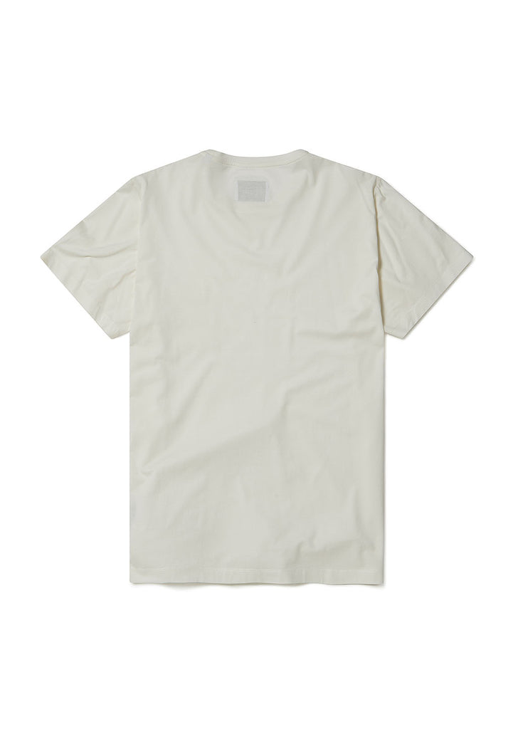 Pocket T-Shirt in Ecru