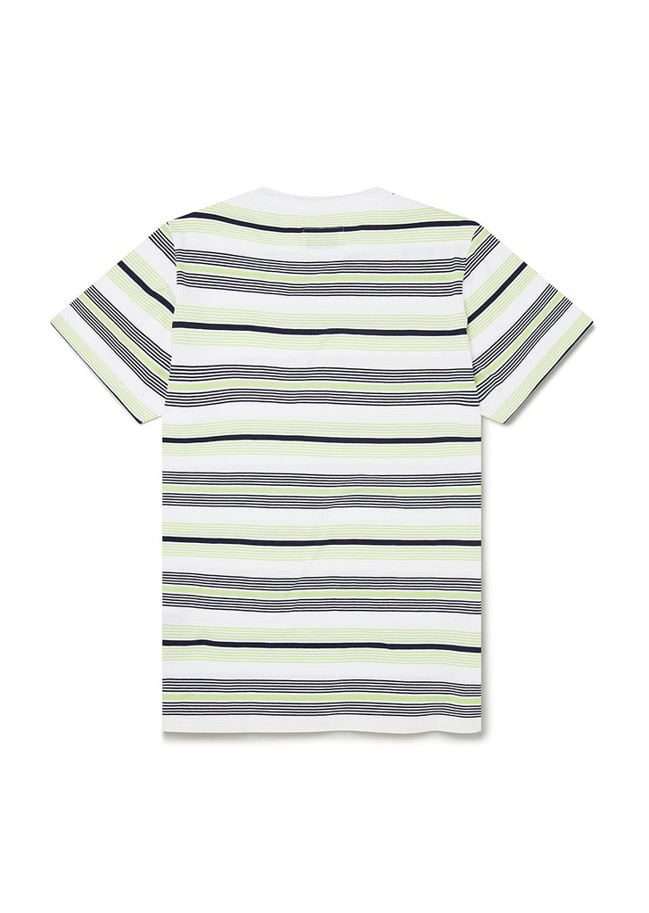 Multi Stripe T-Shirt in Navy Stripe