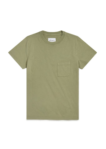 Workwear T-Shirt in Oil Green