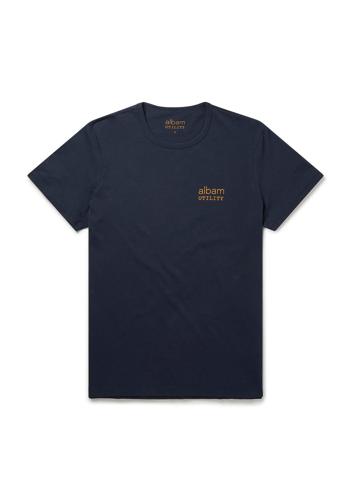 Utility Graphic T-Shirt in Navy
