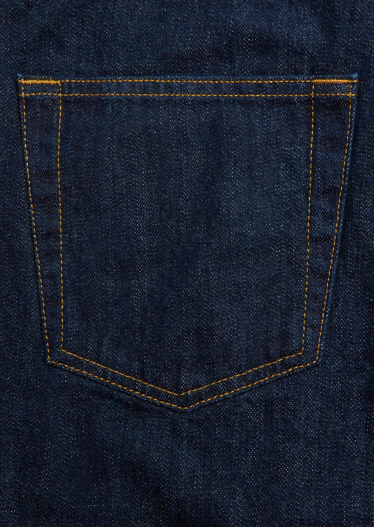 Japanese Denim Regular Fit Jeans in Indigo