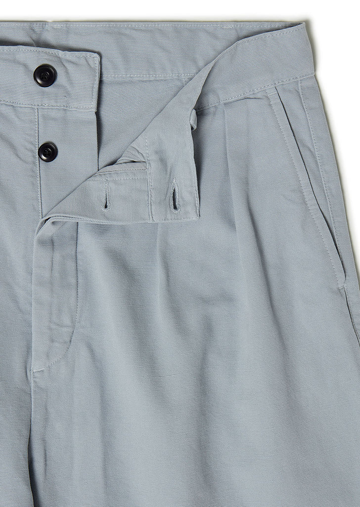 Pleated Trouser in Grey