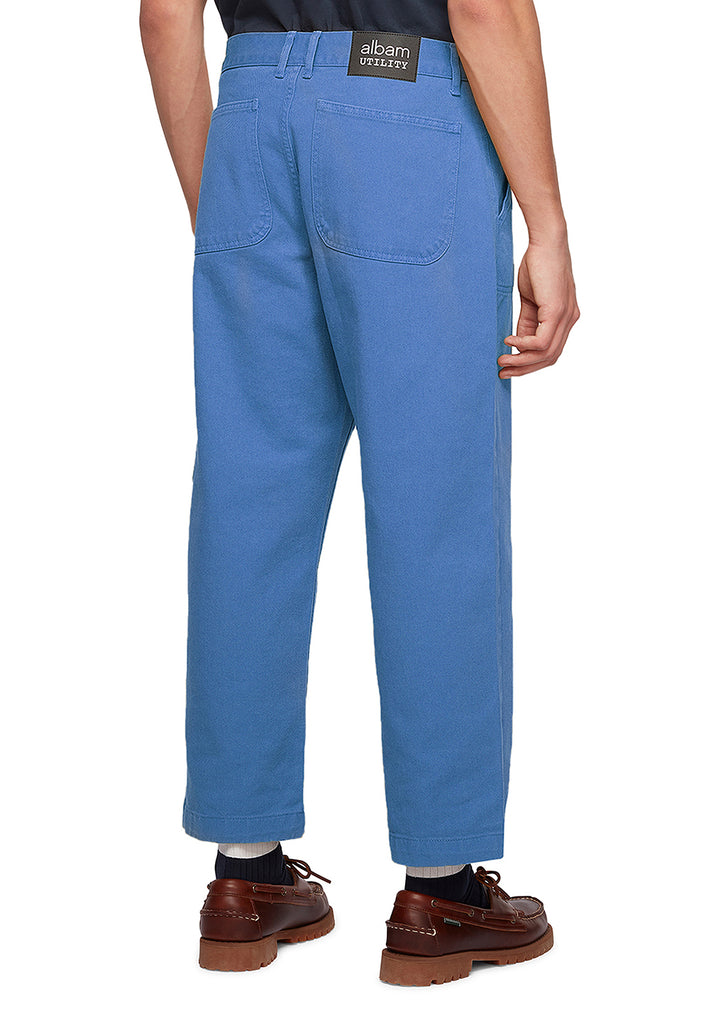 Utility Loose Work Trouser in Blue