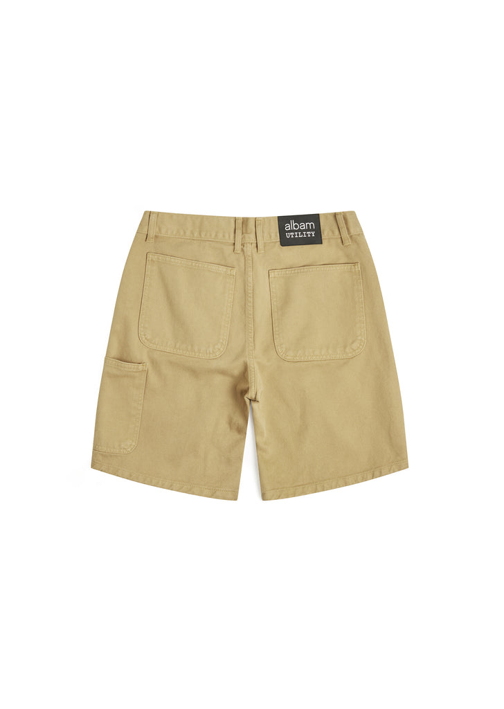 Utility Loose Fit Short in Sand