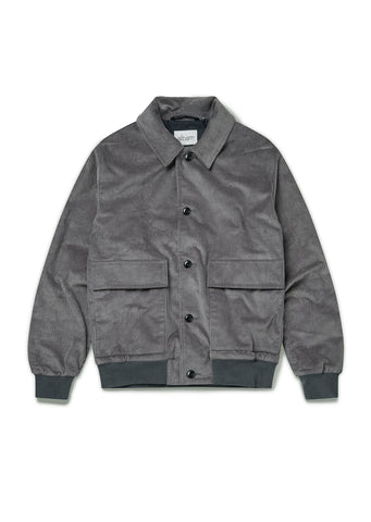 Classic Bomber in Grey