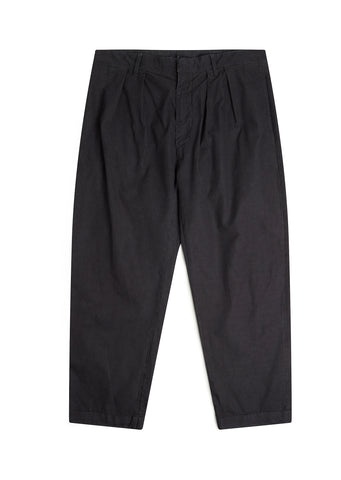Havana Double Pleat Trouser in Navy