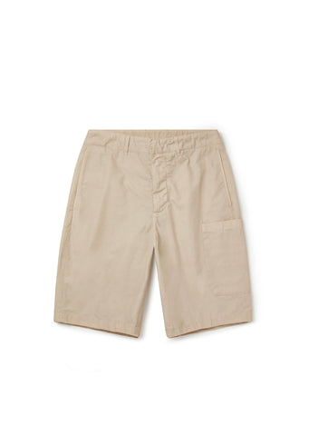 Havana Patch Pocket Short in Clay